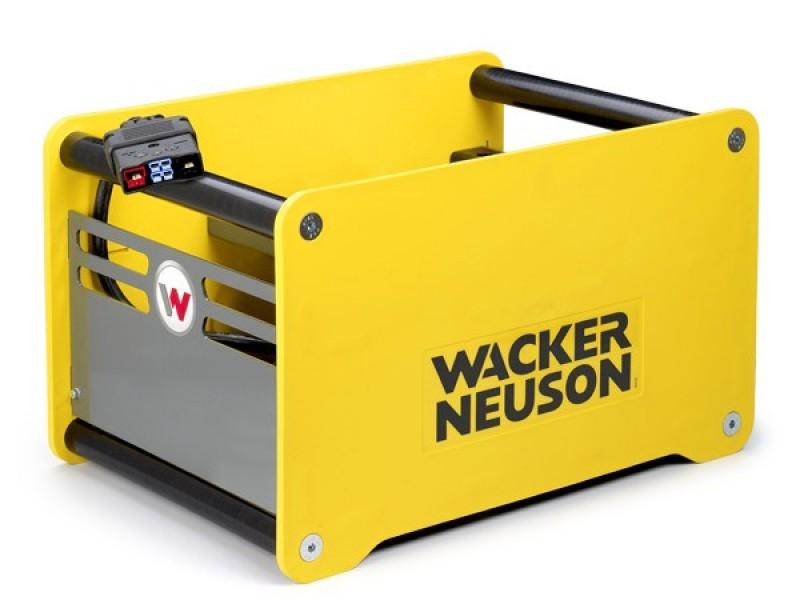 Snellader voor Wacker accustamper en accutrilplaat