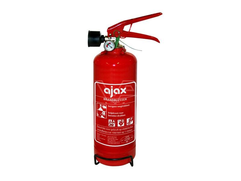 Brandblusser schuim Ajax FS2 vorstvrij 2kg