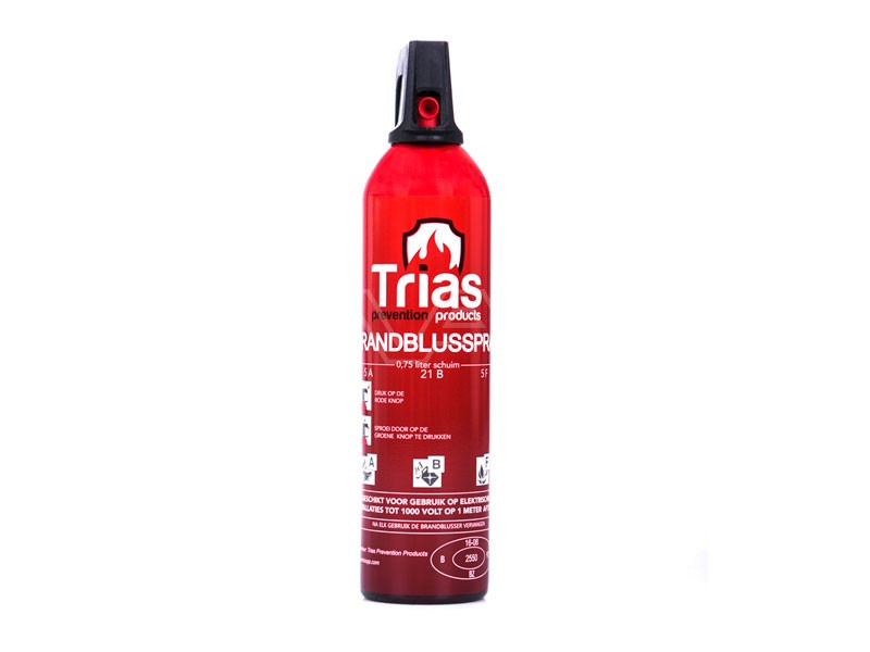 Brandblusser schuim FixFirst Trias 750 ml