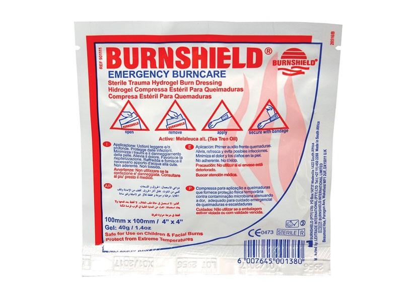 Brandwondenkompres 10 x 10 cm Burnshield