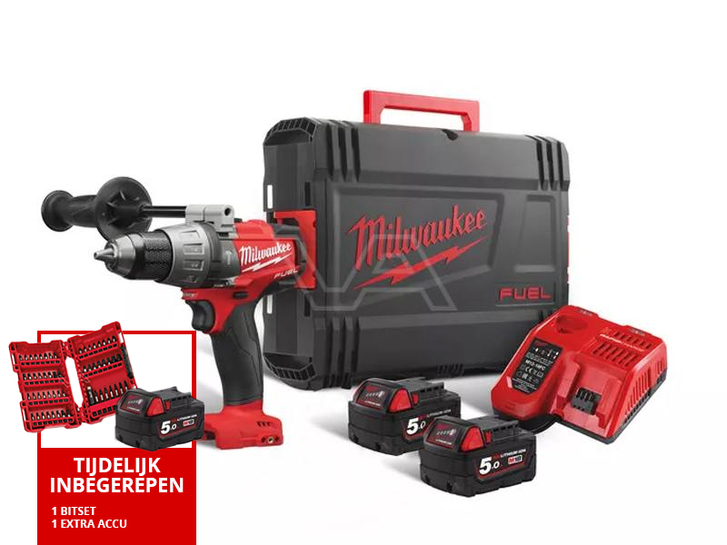 Slagboormachine Milwaukee M18 FPD2-502X