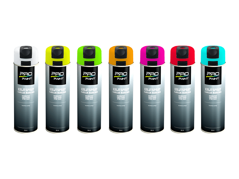 Pro-Paint Krijtspray 5-15 dagen 500 ml