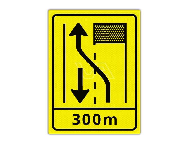 Omleidingsbord WIU T31-2l + ondertekst 300m