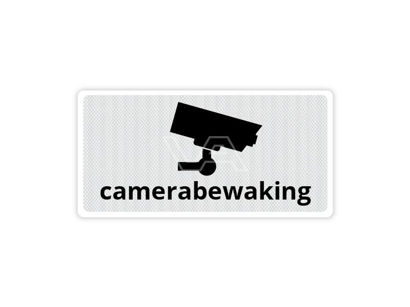 Verkeersbord Camerabewaking CB11 40 x 20 cm