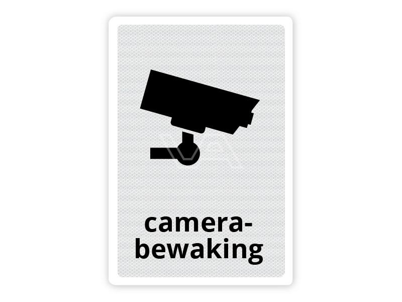 Verkeersbord Camerabewaking CB01 40 x 60 cm
