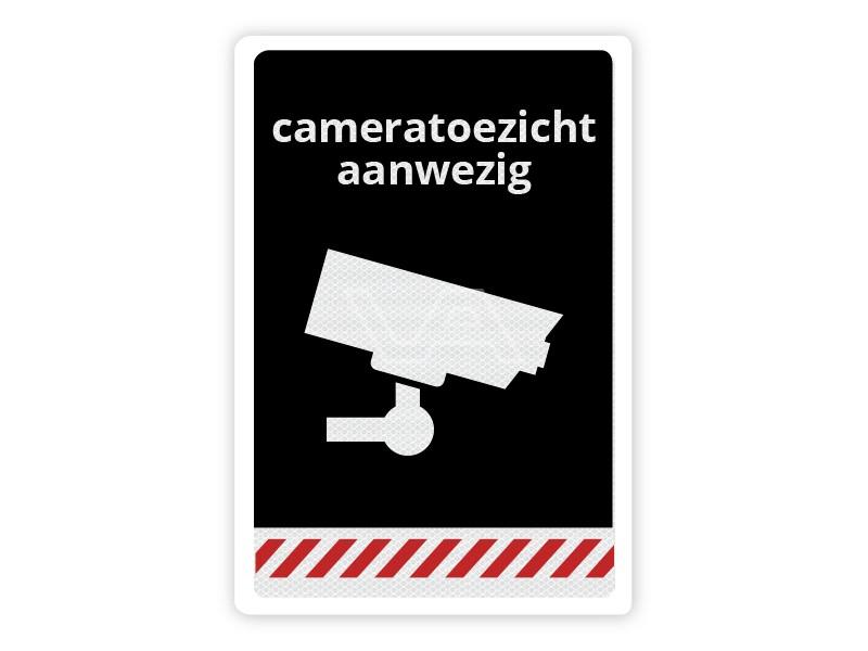 Verkeersbord Cameratoezicht aanwezig CB03 40 x 60 cm
