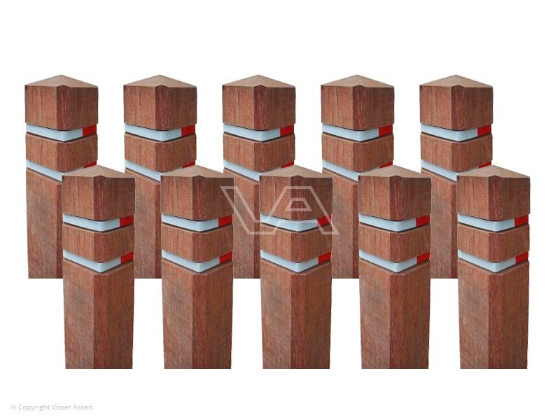 Diamantkoppaal hardhout actiepakket | 10 stuks