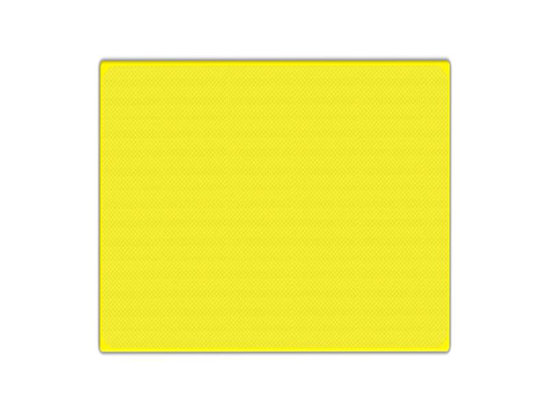 Tekstbord geel kaal reflecterend