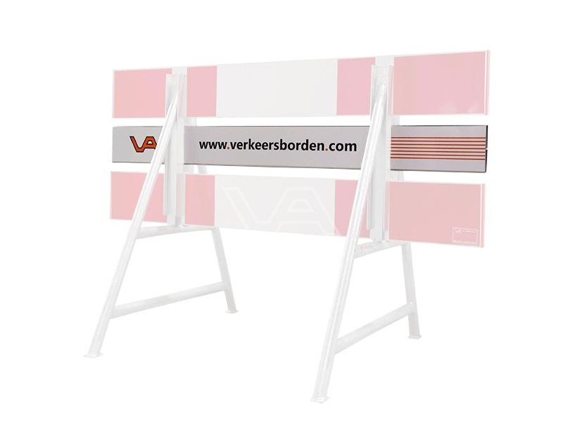 Afzethek middenplank enkelzijdig 15 x 150 cm