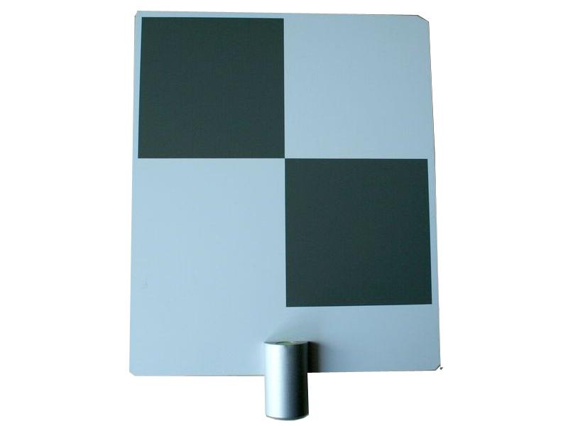 Checkerboard target klein