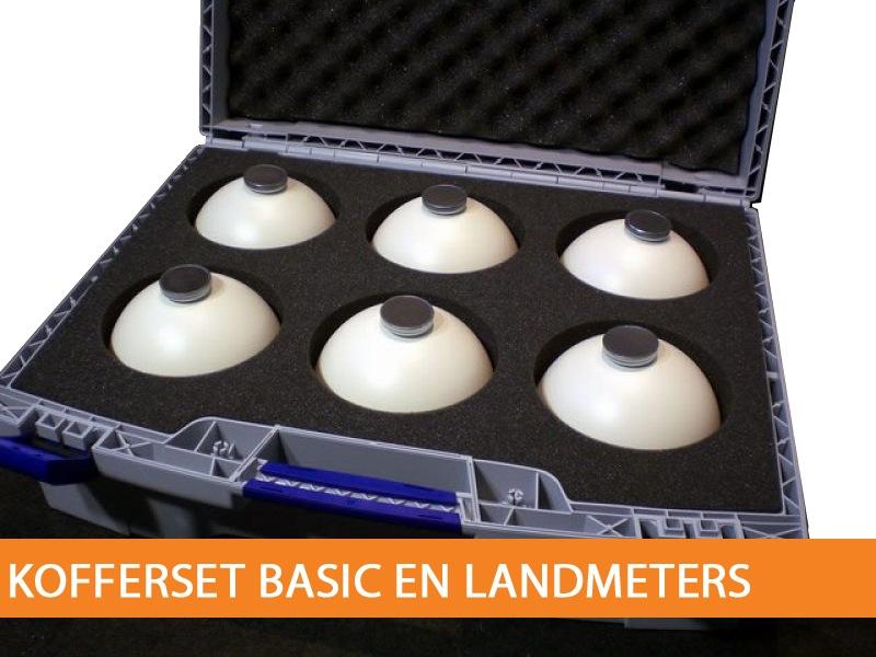 Sphere kofferset basic en landmeters