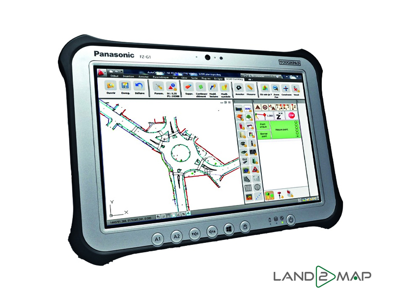 Land2Map tablet & software