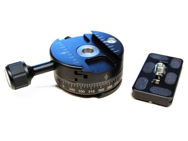 Statiefadapter met snelklem