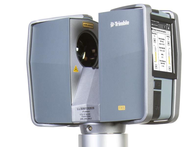 3D-laserscanner Trimble TX5
