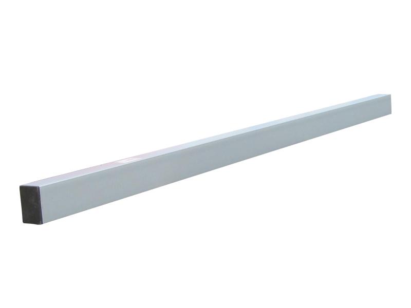 Afreibalk alu 60 x 40mm 1-  3 meter