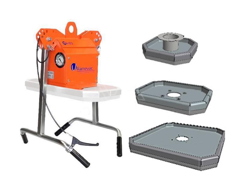 Tegeltiller Hamevac VTH-150-BL + Zuignap 50, 95 & 200 kg