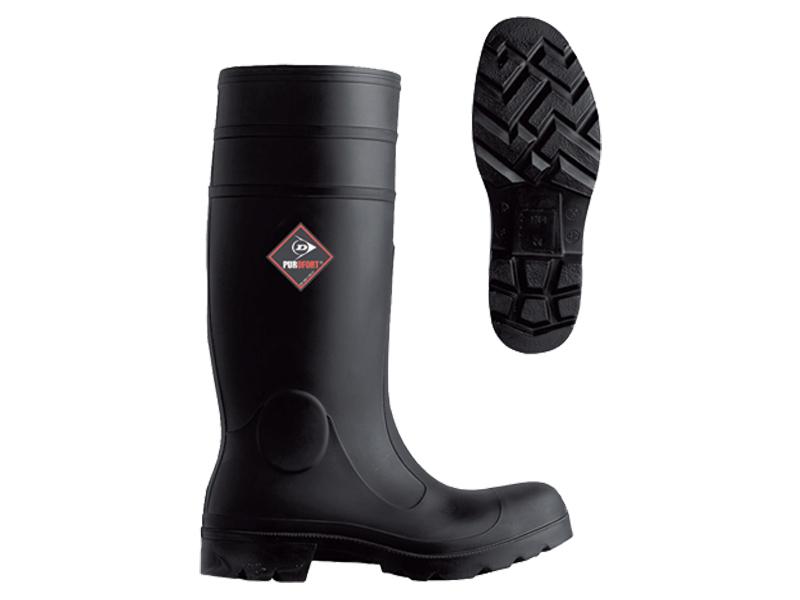 Werklaars Dunlop Acifort zwart S5