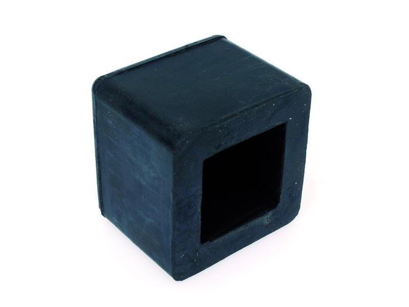 Mokerdop rubber 1.00 - 2 kg