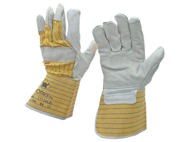 Werkhandschoen nerfleder met palmversterking