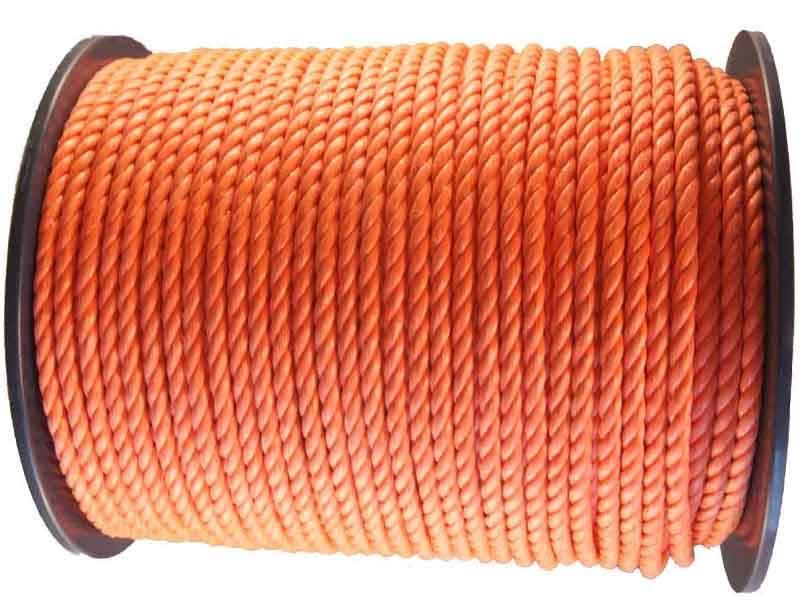 Stuurlijn oranje 8 mm 220 meter