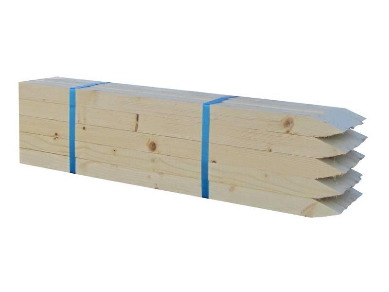 Piketpaal vurenhout | 25 stuks