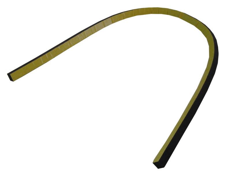 Tegeltiller rubber strip