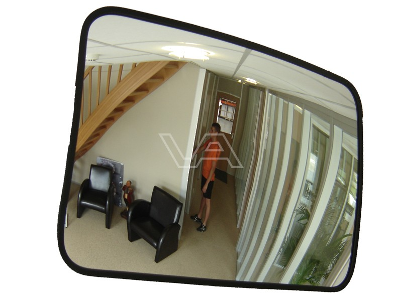 Binnenspiegel acryl rechthoek incl beugel