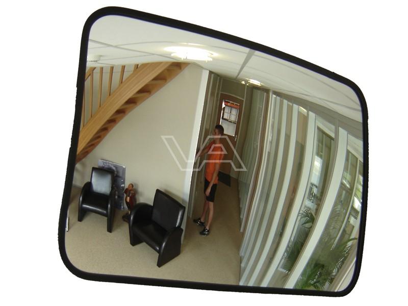 Binnenspiegel polycarbonaat rechthoek