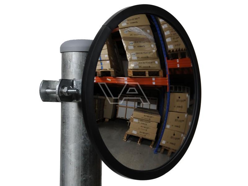Industriespiegel acryl rond