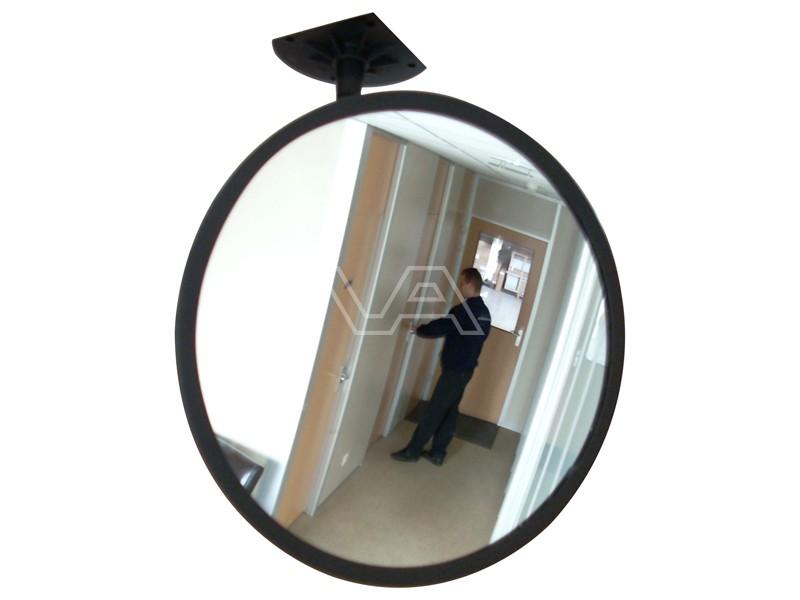 Binnenspiegel polycarbonaat rond incl. beugel
