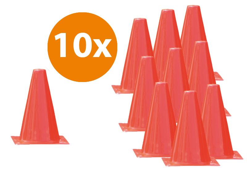 ACTIE verkeerskegels 30 cm | 10 stuks