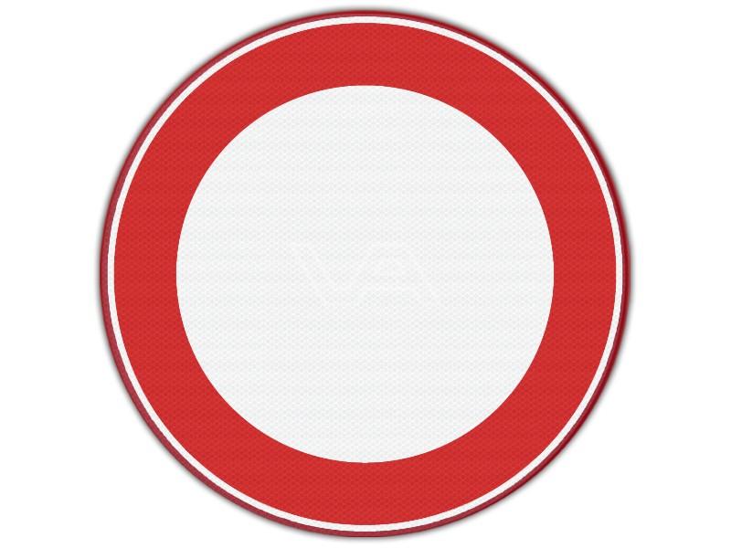 Verkeersbord RVV C01 - Verboden in te rijden