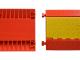 Kabelbrug PU 90 x 50 x 5.5 cm 5-kanaals