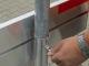 Afzethek 250cm aluminium enkelzijdig compleet | 2 stuks