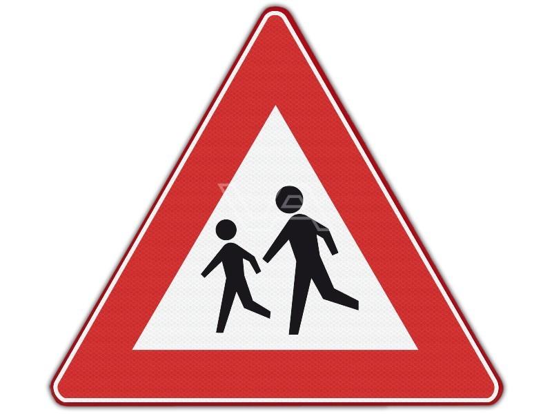 Verkeersbord RVV J21 - Kinderen