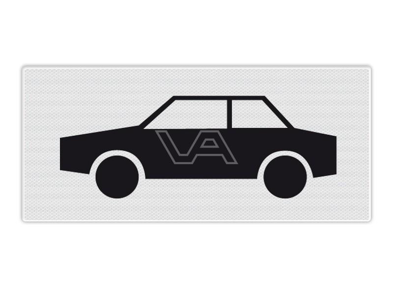 Onderbord RVV OB09 - Auto's