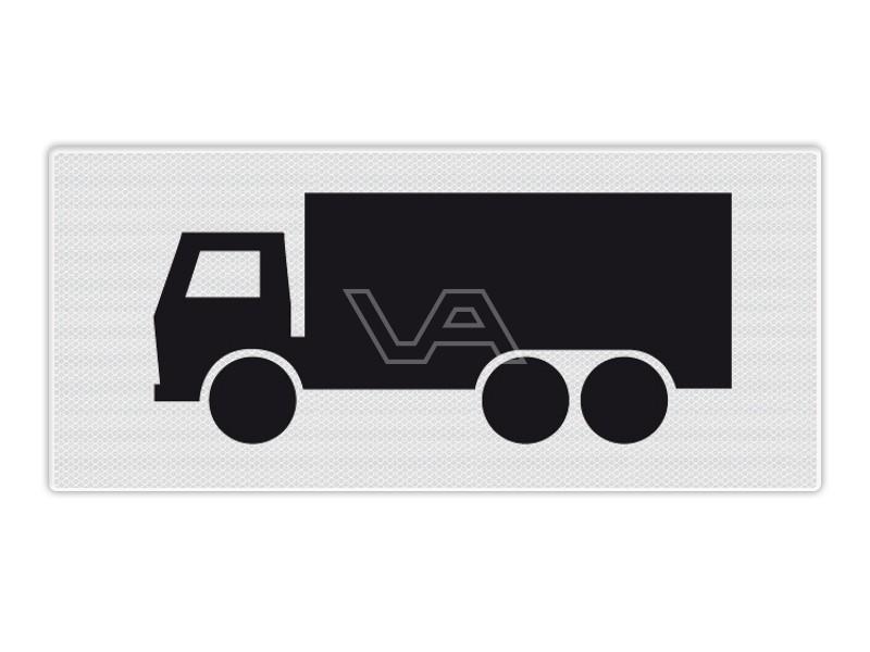 Onderbord RVV OB11 - Vrachtwagens