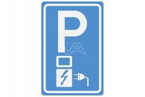 Parkeerbord Elektrische auto: rechten en plichten