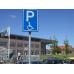 Verkeersbord RVV E06 - Parkeren invaliden