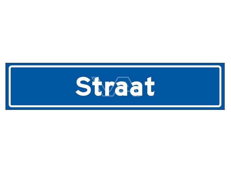 Straatnaambord N01 15 cm