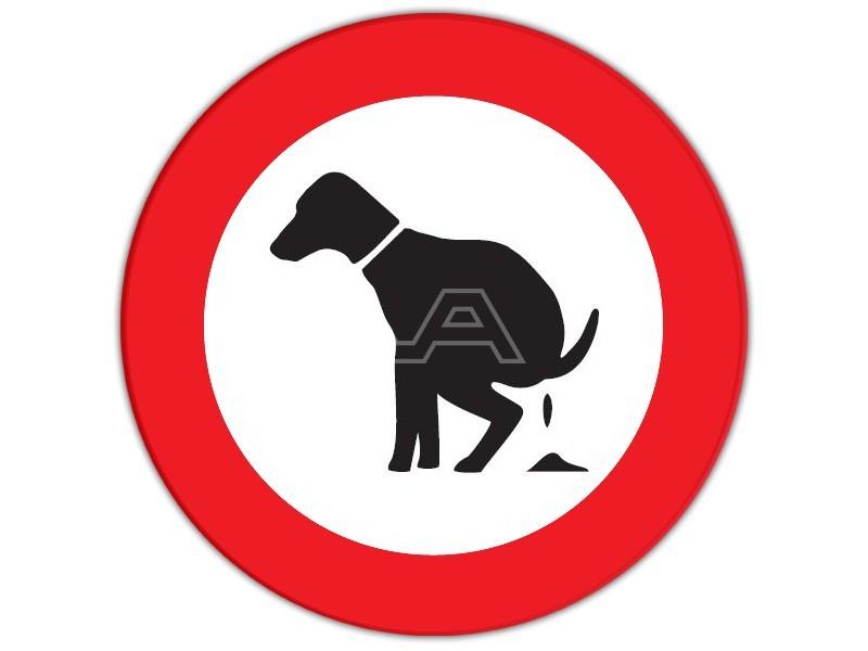 Verkeersbord Hondenpoep verboden