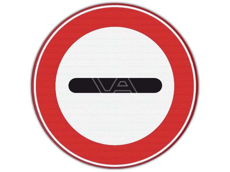 Verkeersbord RVV F10 - Stopbord