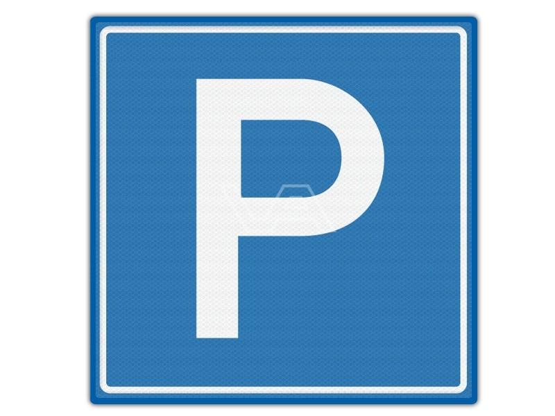 Verkeersbord RVV E04 - Parkeerterrein