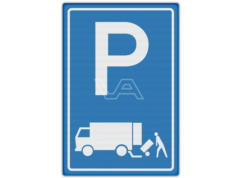 Verkeersbord RVV E07 - Parkeren laden en lossen
