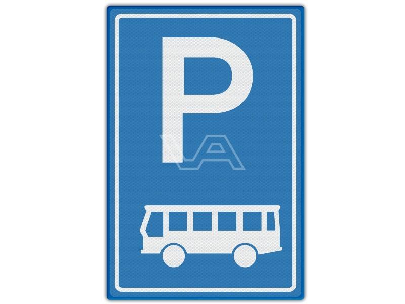 Verkeersbord RVV E08d - Parkeren bussen