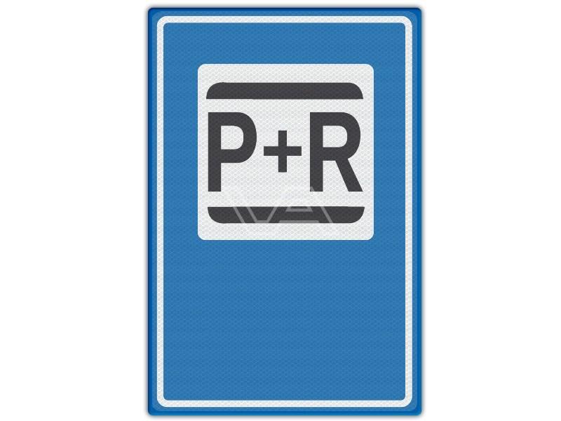 Verkeersbord RVV E12 - P + R