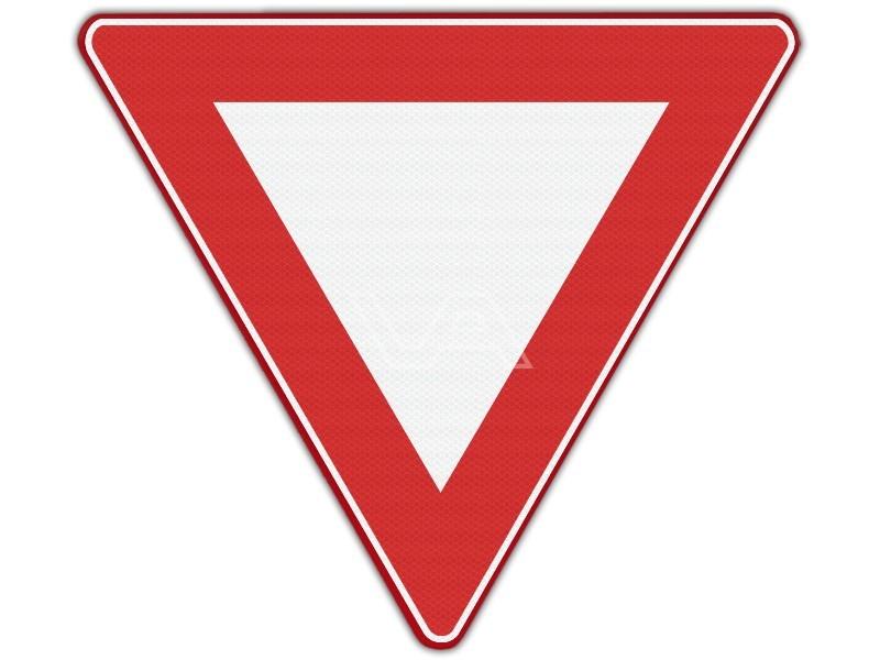 Verkeersbord RVV B06 - Voorrang verlenen