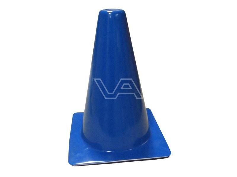 Verkeerskegel blauw 30 cm