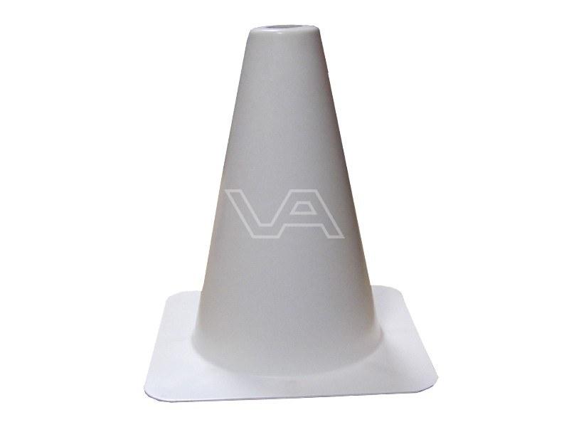 Verkeerskegel wit 50 cm