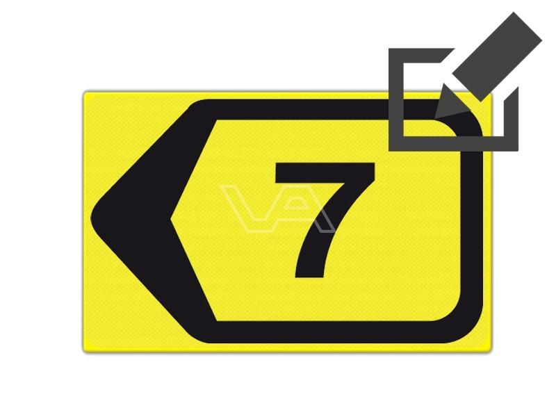 Omleidingsbord WIU T201l-7